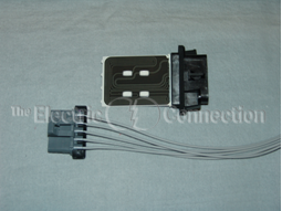 15-8966 Achieva, Alero, Cutlass, Grand Am, Malibu, Sonic Resistor & 4199 Repair Harness Combo