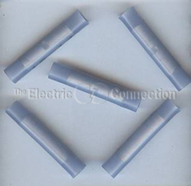 3202 Nylon Insulated Butt Connector / 14-16 Ga. / 50/pkg.