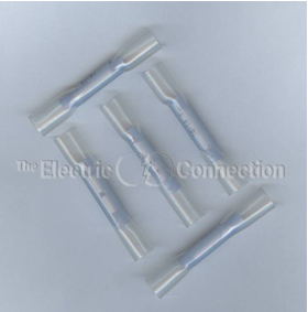 3205 Nylon Insulated Butt Connector w/Heat Shrink Tubing / 14-16 Ga. / 10/pkg._MAIN