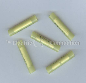 3302 Nylon Insulated Butt Connector / 10-12 Ga. / 50/pkg.
