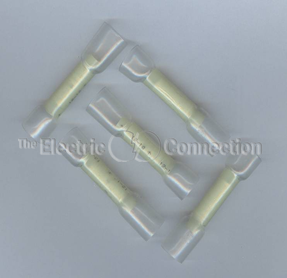 3305 Nylon Butt Connector w/Heat Shrink Tubing / 10-12 Ga. / 10/pkg.