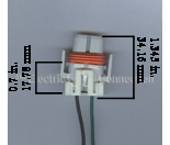 4186 Repair Harness / Connector for  H9 Bulbs Mini-Thumbnail
