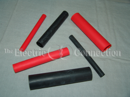 "3824 Extra Heavy Duty Heat Shrink Tubing / .750"" OD x 6.00"" L / Red"