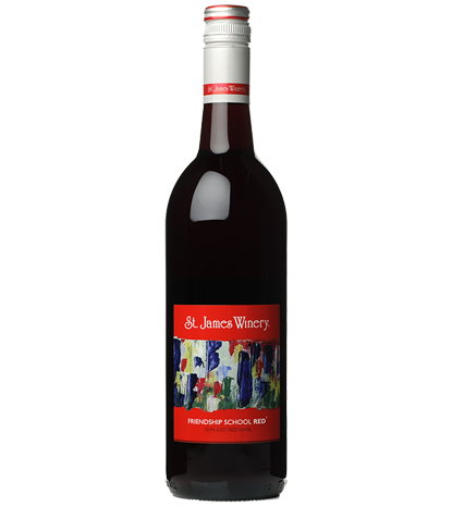 St. James Winery Friendship School Red Wine