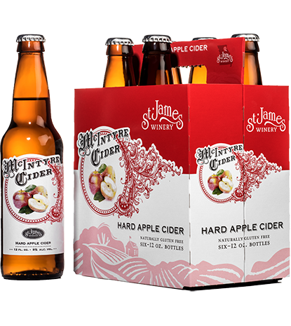 McIntyre Cider Hard Apple 6-pack MAIN