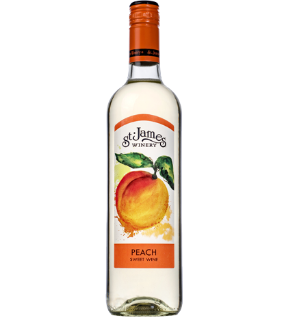Peach Wine St James Winery Online Store