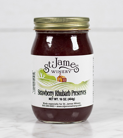 Strawberry Rhubarb Preserve MAIN
