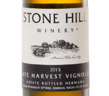 2013 Stone Hill Winery Late Harvest Vignoles