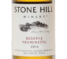 2015 Stone Hill Winery Reserve Traminette