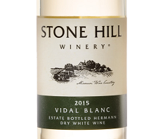 2015 Stone Hill Winery Vidal Blanc