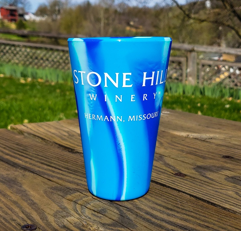 16oz. Stone Hill Winery Pint Glass SWATCH