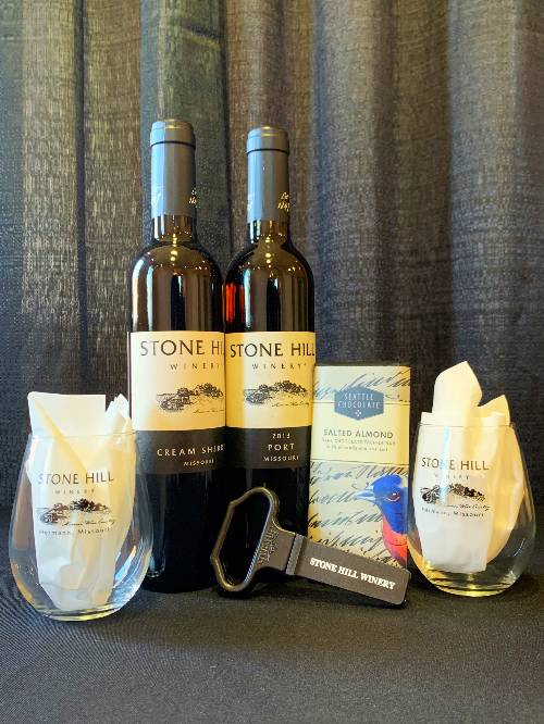 Dessert Wine Stone Hill Winery Port Cream Sherry MAIN