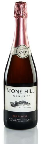 Stone Hill Winery Brut Rose