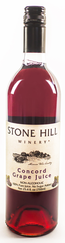 Stone Hill Winery Concord Grape Juice