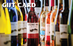 In-Store Stone Hill Winery Gift Certificate THUMBNAIL