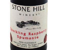 Stone Hill Winery Sparkling Raspberry Juice