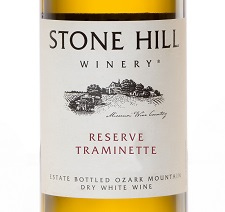 2016 Stone Hill Winery Reserve Traminette