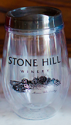 12 oz Stone Hill Stemless Tumbler SWATCH