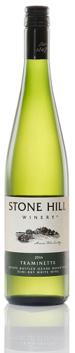 2017 Stone Hill Winery Traminette MAIN