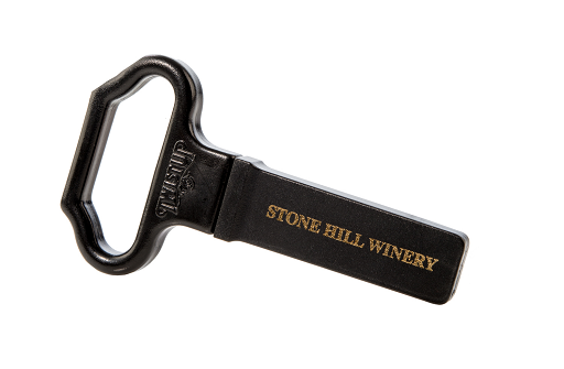Twist-Up Cork Bottle Opener