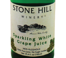 Stone Hill Winery Sparkling WHITE Grape Juice THUMBNAIL