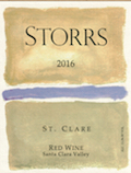 2016 St. Clare Red Wine - a Bordeaux-Red THUMBNAIL
