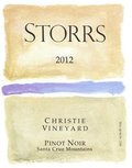 2012 Christie Vineyard Pinot Noir, Santa Cruz Mountains THUMBNAIL