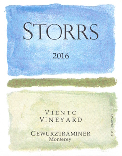 2016 Viento Vineyard Gewürztraminer MAIN