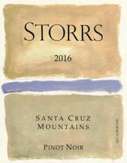 2016 Santa Cruz Mountains Pinot Noir MAIN