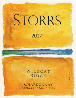 2017 Wildcat Ridge Chardonnay Santa Cruz Mountains MAIN