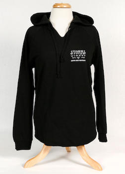 Storrs Women's Heart Pullover Hoodie LARGE