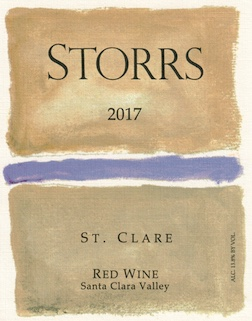 2017 St. Clare Red Wine - a Bordeaux-Red MAIN