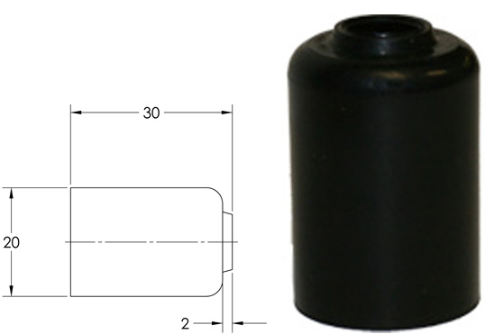 P61-00252B Rubber Cap_LARGE
