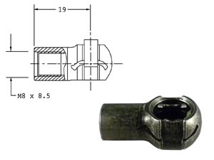 168-00055C End Fitting LARGE