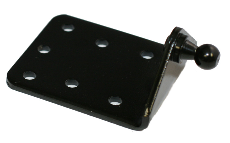 P67-00207 Black E-Coat Ball Bracket LARGE
