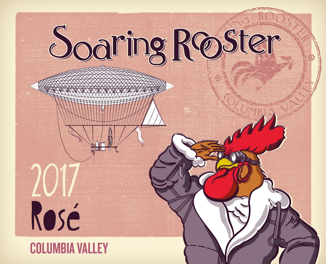 2017 Soaring Rooster Rose *Case Discount* MAIN