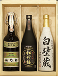"""DaiGinjo & More"" SAKE SET A in wood box"
