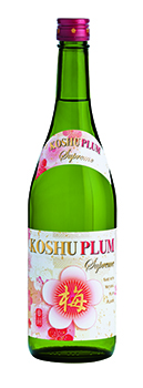 KOSHU Plum › Plum Sake, 750ml - New Label Design