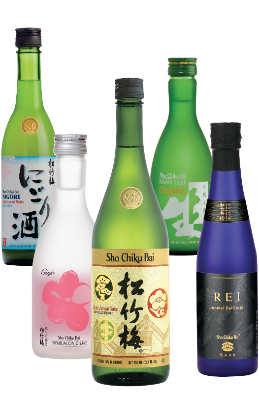VIRTUAL SAKE TASTING > VARIETY SAKE SET MAIN