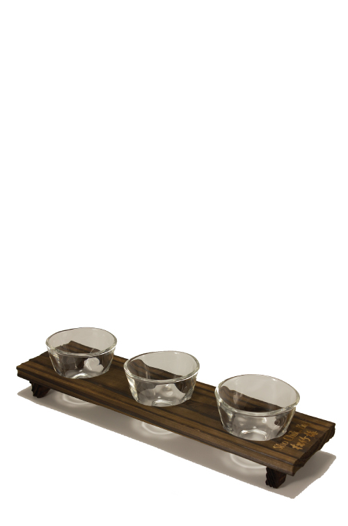 SHO CHIKU BAI > Original Sake/Shochu Flight Set MAIN