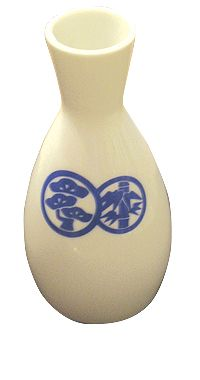 Tokkuri Short (4 oz) > Sake Serving Carafe THUMBNAIL