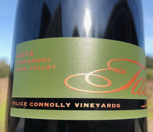2017 Filice Connolly Vineyard Zinfandel - NEW RELEASE MAIN