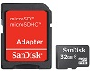 SanDisk Class 4 microSD Card 32GB with Adapter
