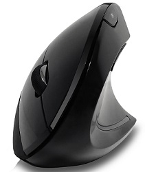 Adesso iMouse E10 Wireless Vertical Ergonomic Mouse (On Sale!)