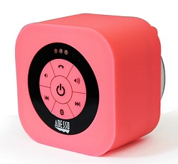 Adesso Xtream S1 Bluetooth Waterproof Speaker (Pink) (While They Last!)_LARGE