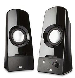 Cyber Acoustics CA-2050 Curve Sonic 2.0 Speaker System (On Sale!)