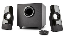 Cyber Acoustics CA-3050 Curve Blast 2.1 Speaker System
