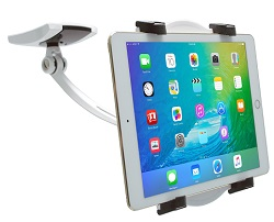 CTA Digital Wall, Under Cabinet, & Desk Mount for Tablets with 2 Mounting Bases