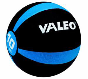Valeo MB10 10 lb Medicine Ball with BONUS