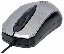 Manhattan Edge 1000 dpi Optical Mouse (Gray)